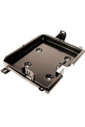 Battery Frame Steel 260mm Powdercoat Black