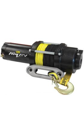 TJM Torq ATV Winch 4000LB inc Synthetic Rope