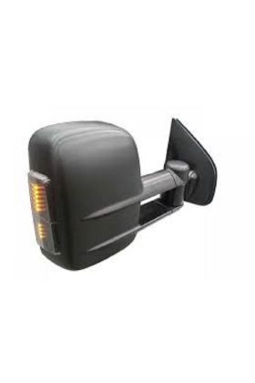 Clearview Towing Mirrors Electric w/ Heating GPS AM-FM Black