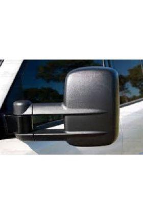 Clearview Towing Mirrors Electric Black