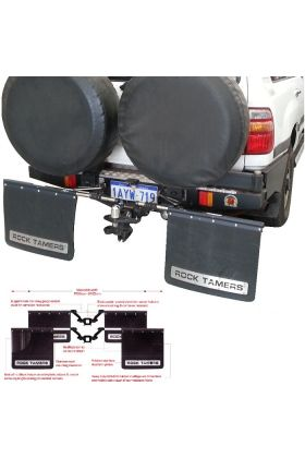 Clearview Rock Tamer Mud Flaps