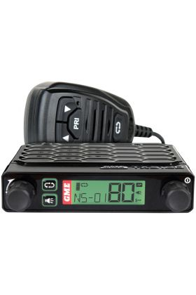 GME 5 Watt Super Compact UHF CB Radio with Speaker Microphon