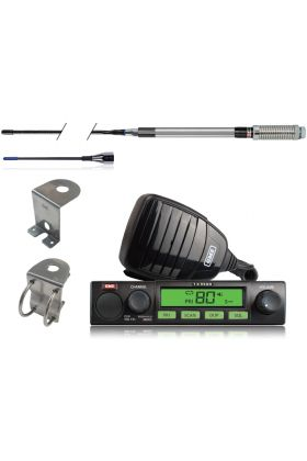 GME UHF Compact Radio 5W Value Pack